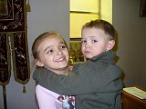 Cousins: Claudia and Nate