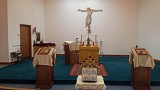 Our Beautiful Altar Area!