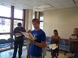 Seva reading the Epistle