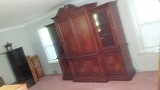 TV Armoire (with individual side cablinets)